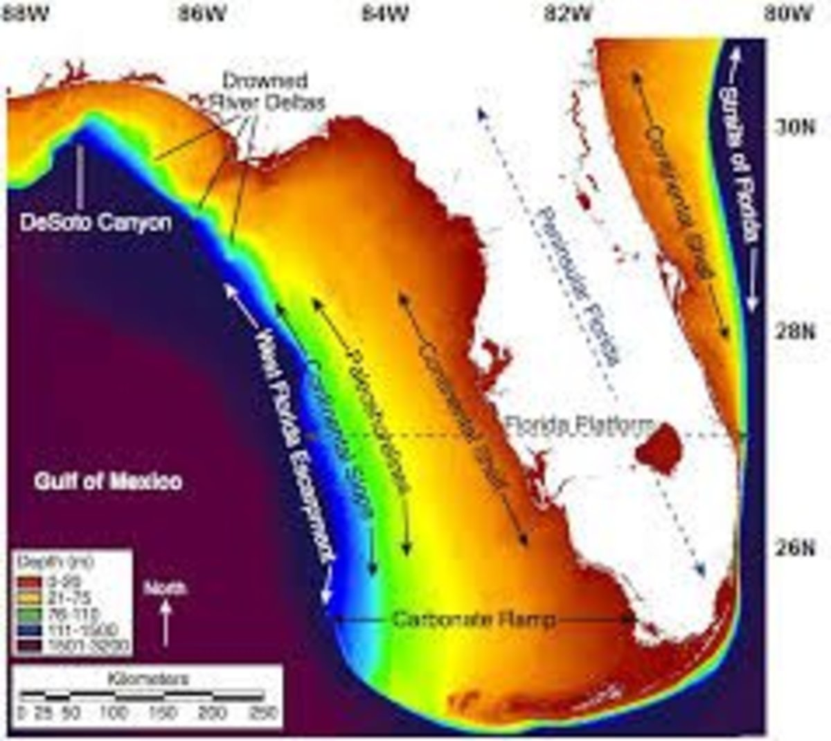 Prehistoric Florida, 12,000 years ago