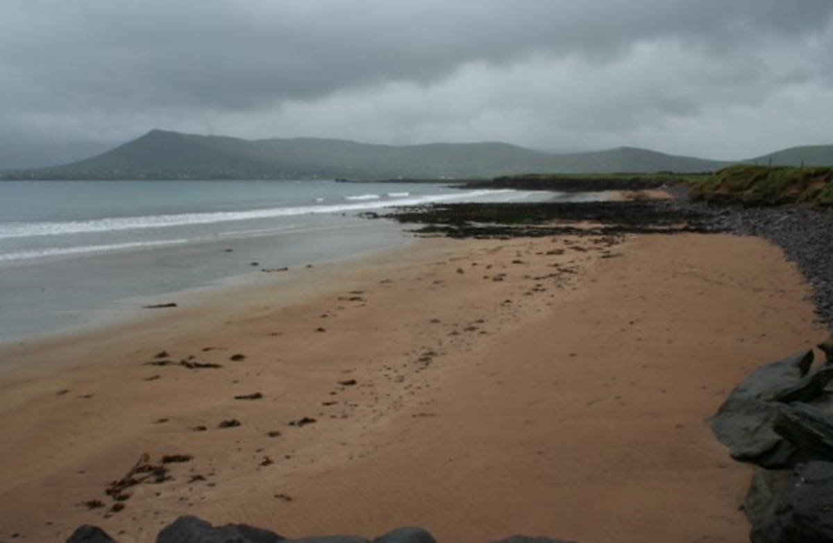 """Beach on Cuan Ard na Caithne"" by Espresso Addict for Geograph Commons"