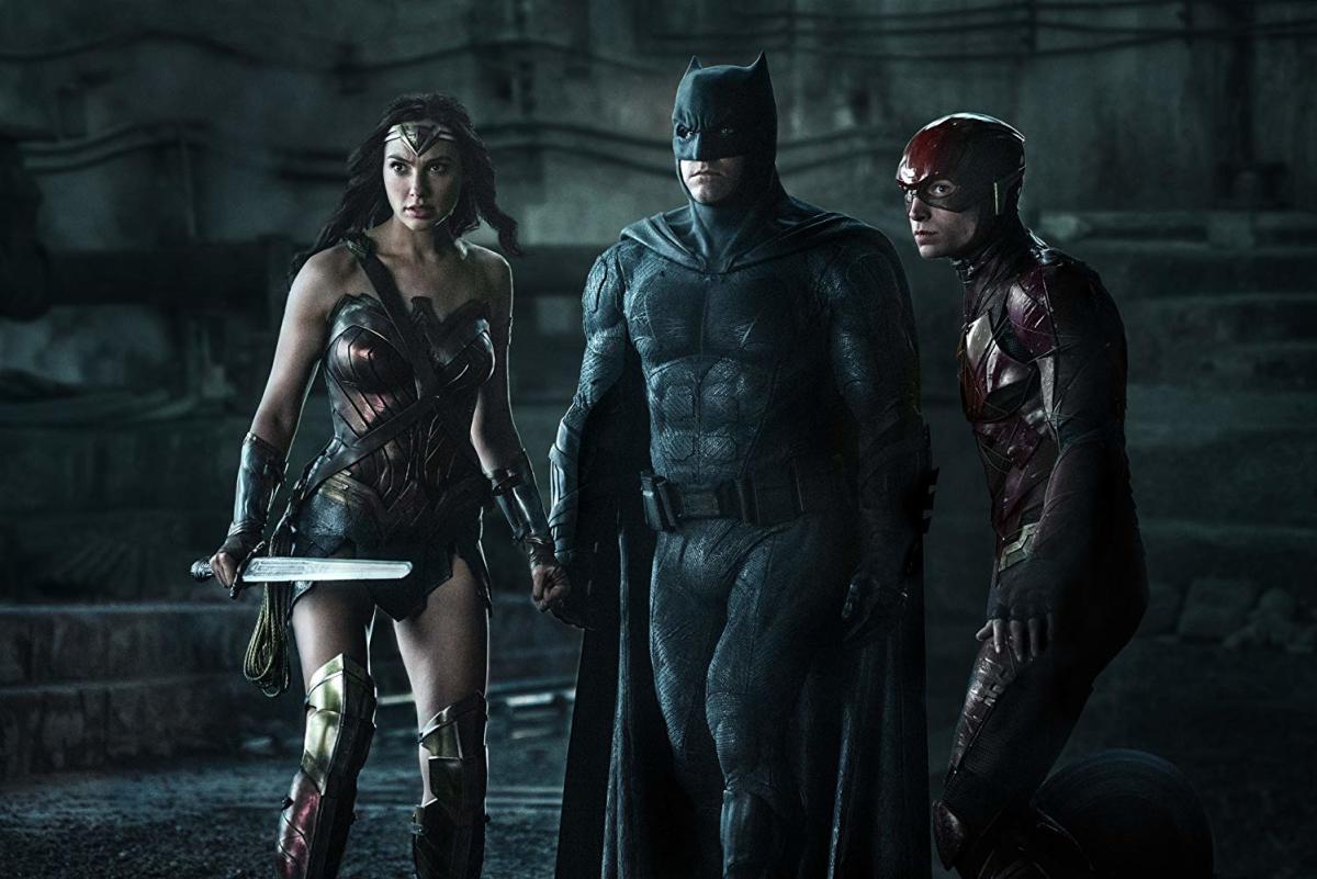 Fighting off critics of Batman V Superman.