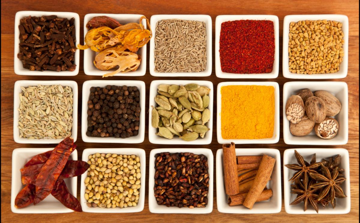 Key Ingredients in a Hindu meal
