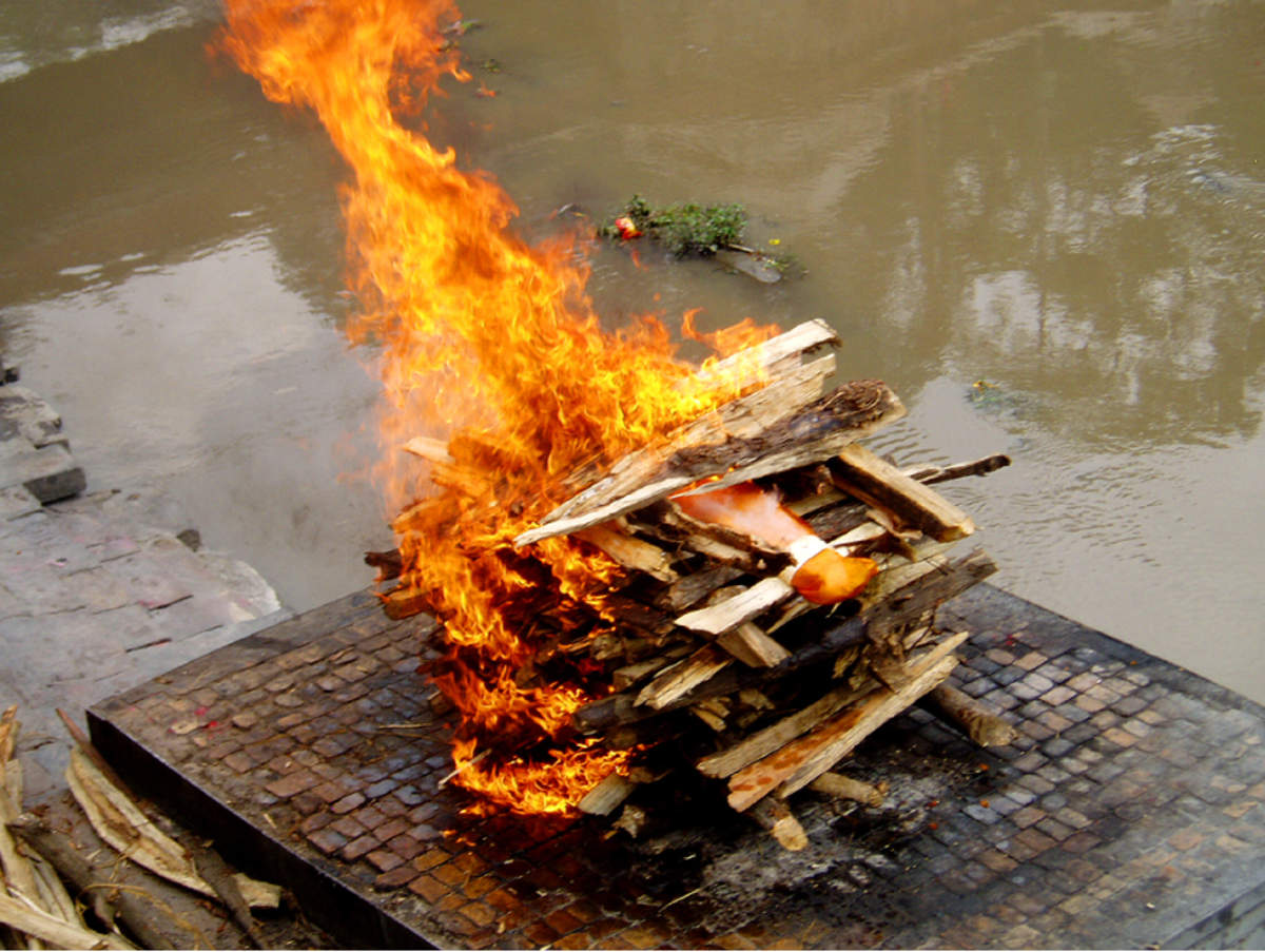 Cremation Ceremony in Hinduism