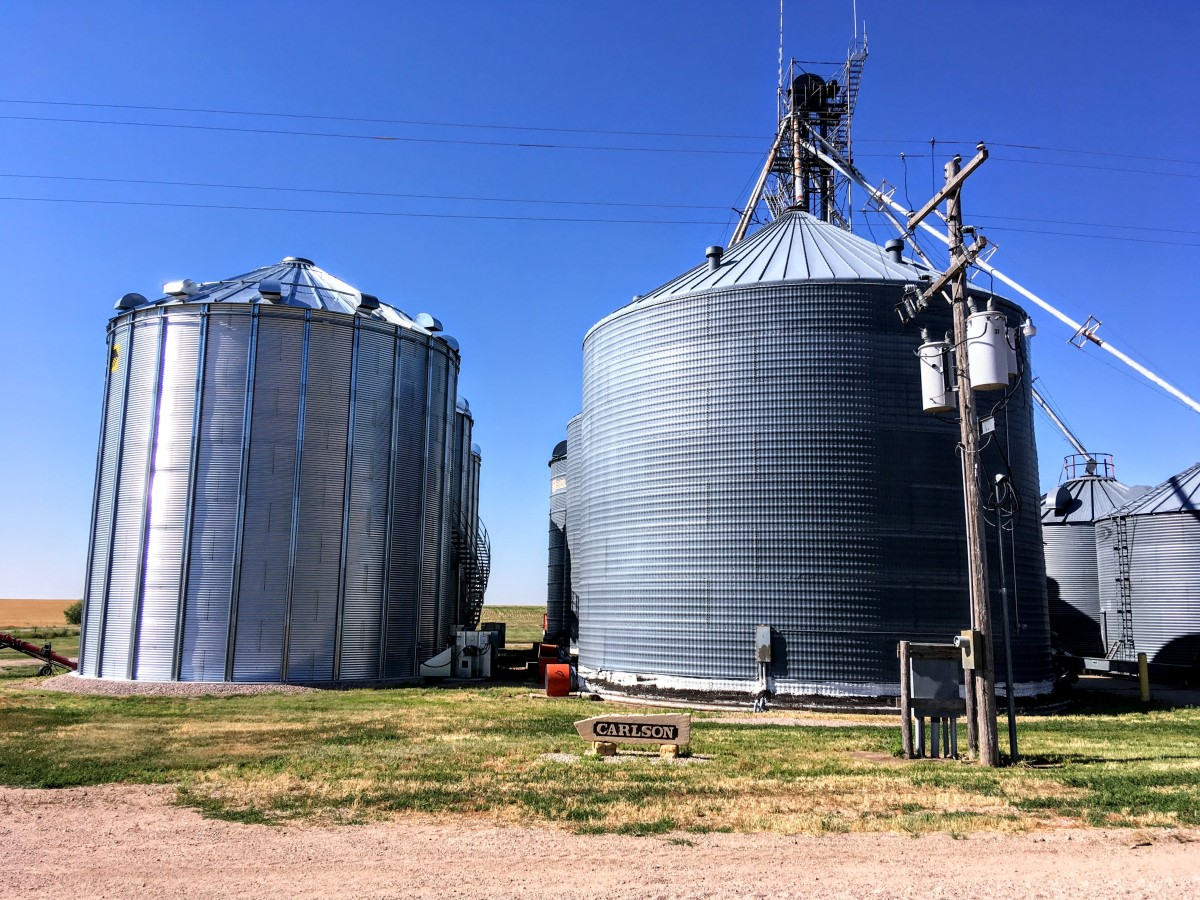 Site Preparation for Building a Grain Bin: a Discussion