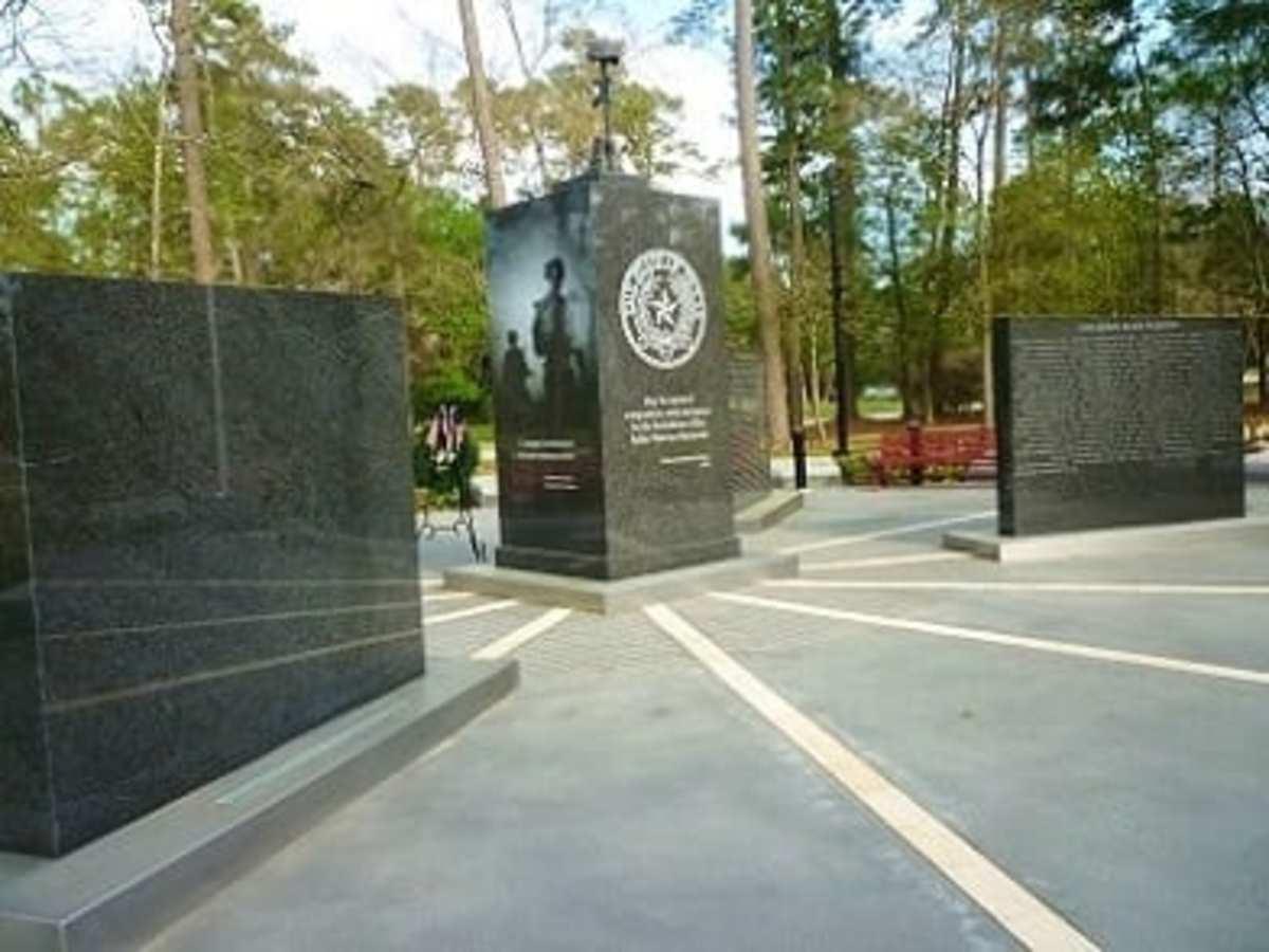 Fallen Warriors Memorial in Northwest Houston