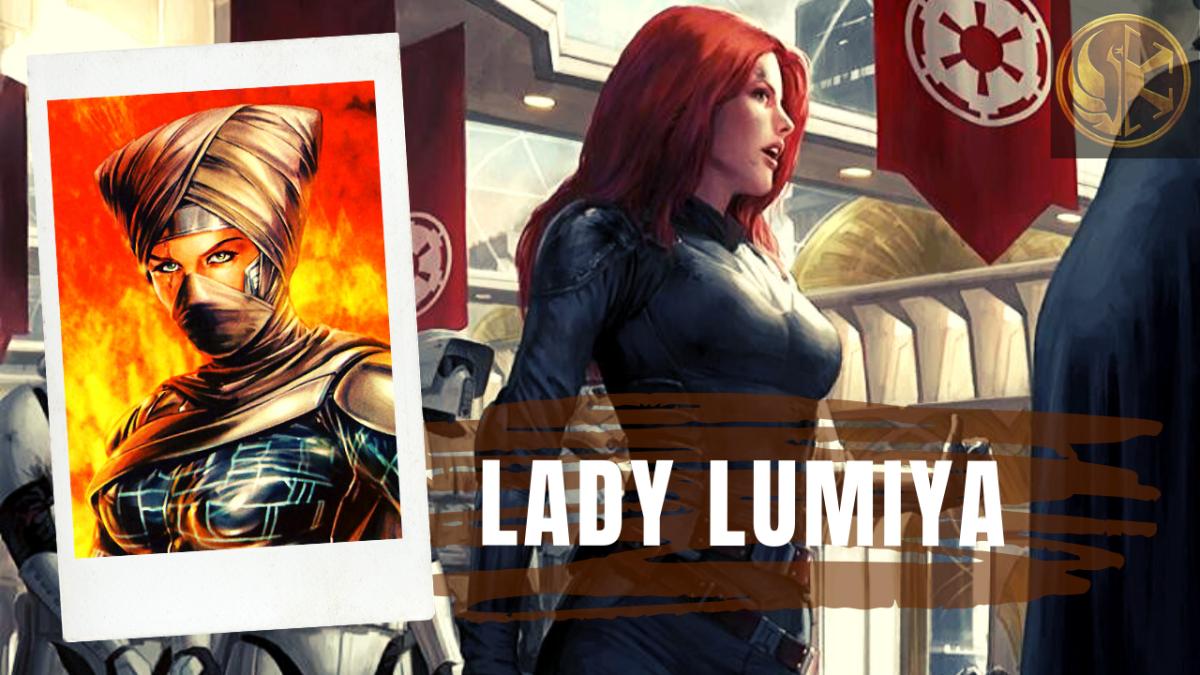 Darth Lumiya: From Agent Shira Brie to Dark Lady Lumiya