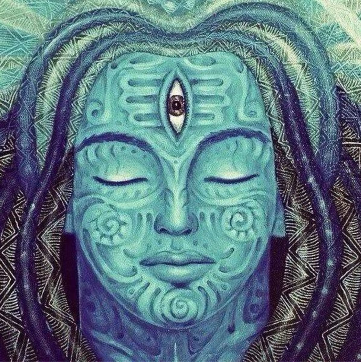 Ajna chakra is often related with the third eye of Lord Shiva