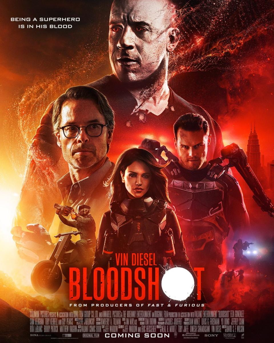Latest Superhero Movie - Bloodshot