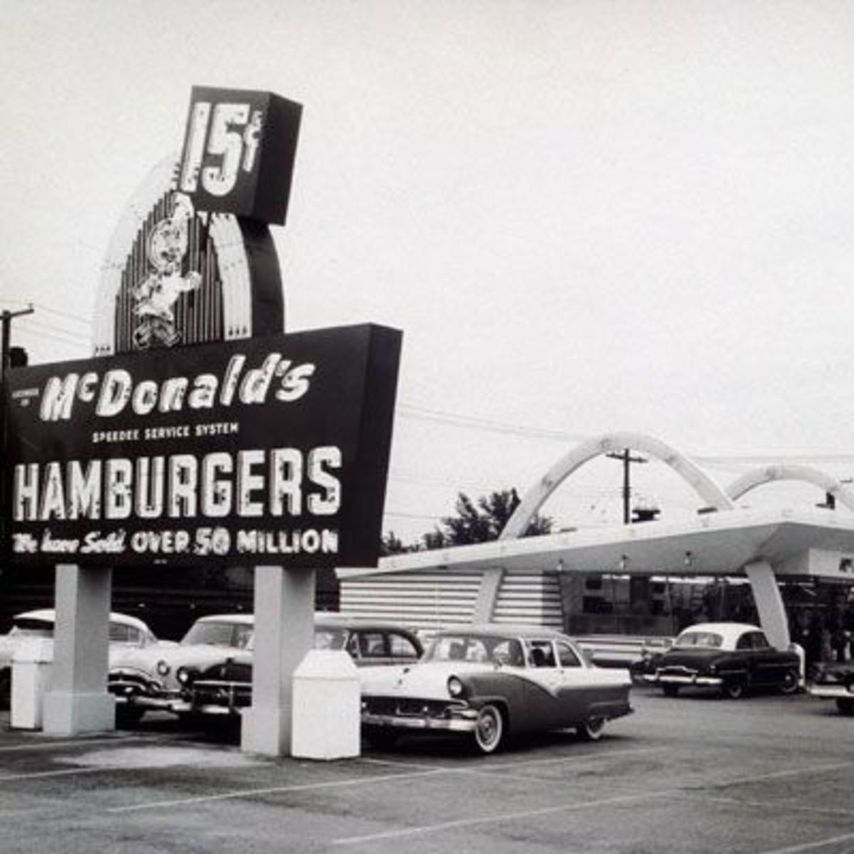 McDonald's originated in San Bernardino, and is now a museum.