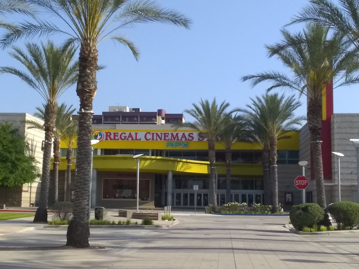 Regal Cinemas Multi-Plex movie theater.