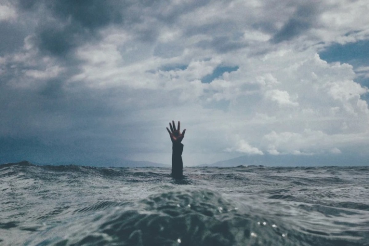 Drowning under stress