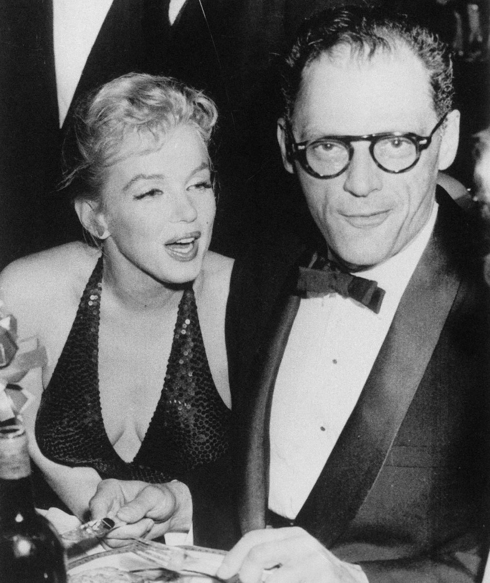 Arthur Miller 1915 - 2005. Marilyn Monroe 1926 - 1962