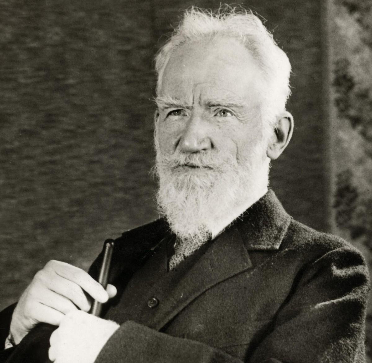 George Bernard Shaw  1856 - 1950