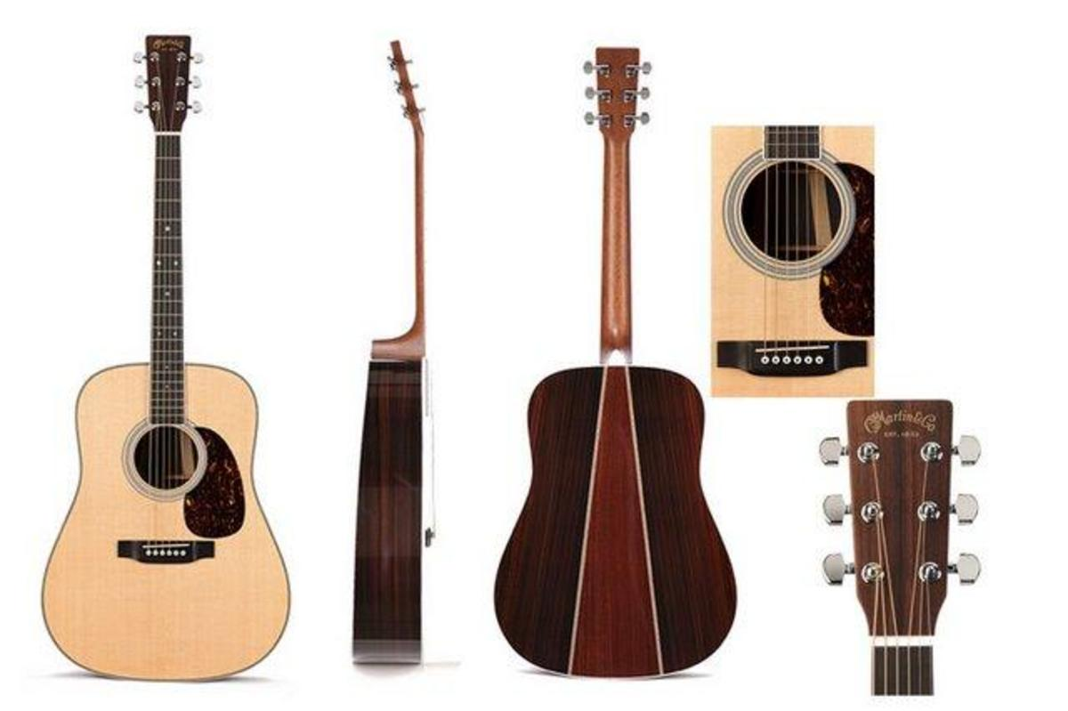 Just about every angle of the Martin HD-35.