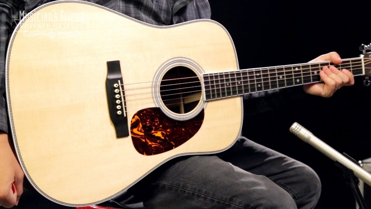 The Martin D-35 vs the Martin HD-35 Guitars