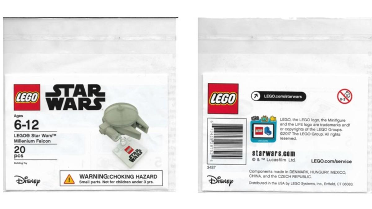 Promotional Target LEGO Star Wars Millennium Falcon Bag