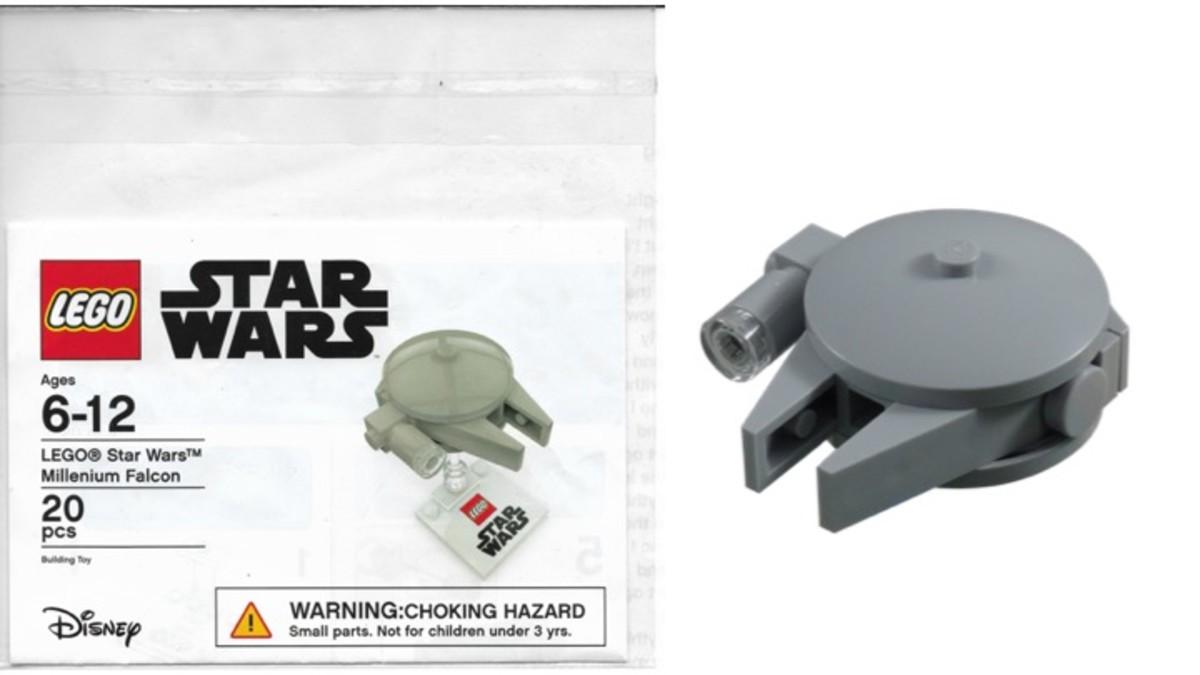 Promotional Target LEGO Star Wars Millennium Falcon Set