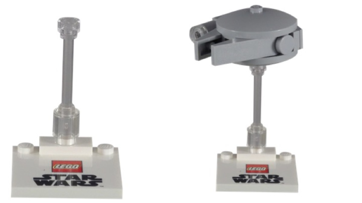 Promotional Target LEGO Star Wars Millennium Falcon Stand