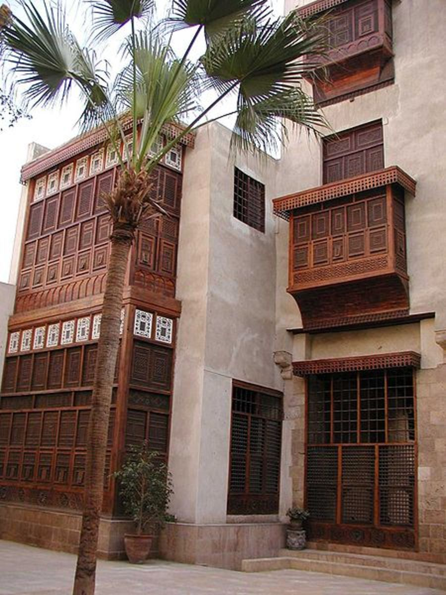 Bayt Al-Suhaymi (House of Suhaymi) is an Islamic themed house and museum in Cairo, Egypt. It was originally built in (1058 AH / 1648 AD). The house is included windows(mashrabiya) are made of carved wood.