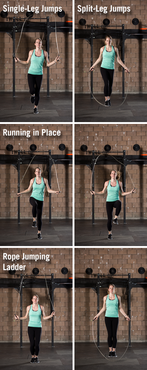 Forms of Jump rope