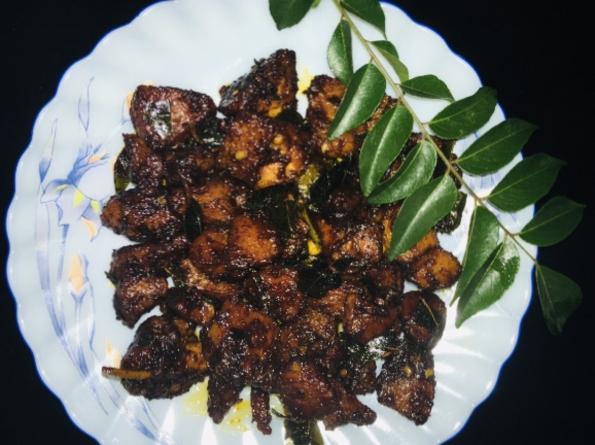 Simple Saucy Fried Chicken Recipe