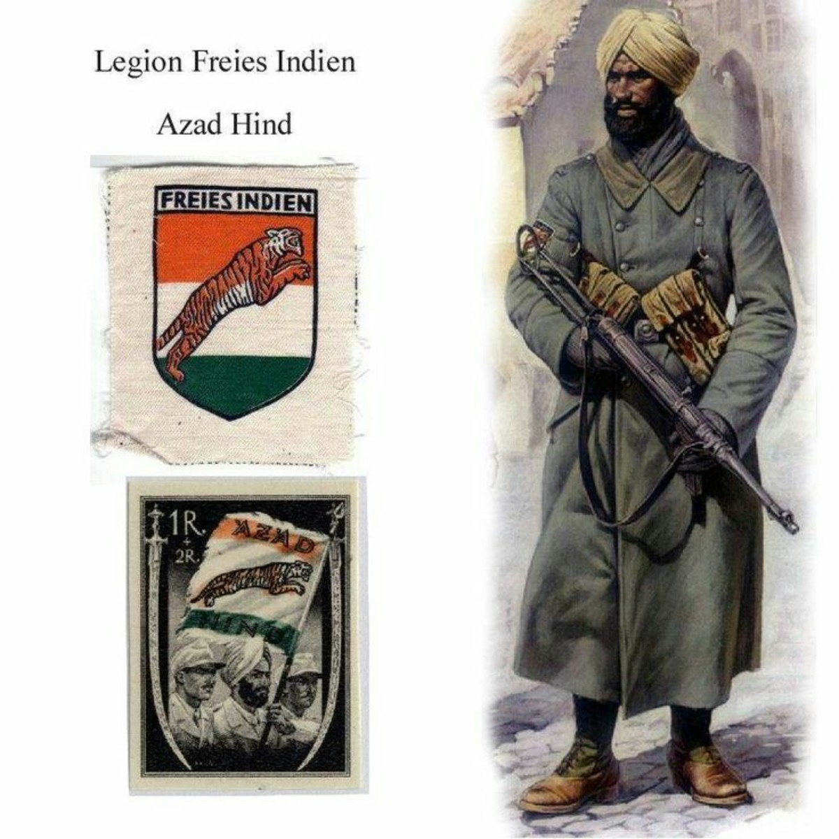 Hitler's India Legion in WW II