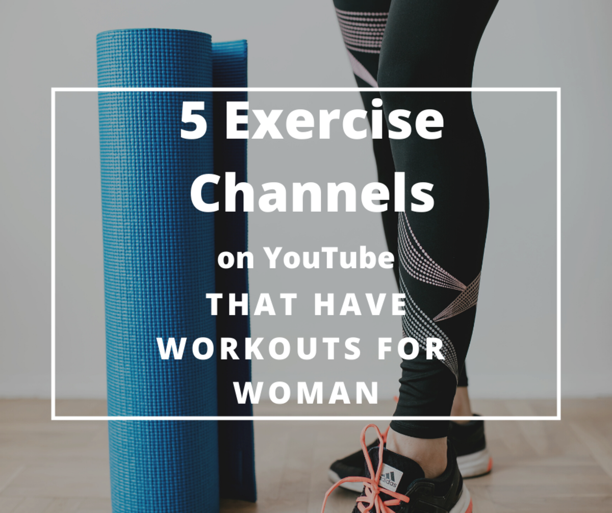 How to find workout routines on YouTube for woman.