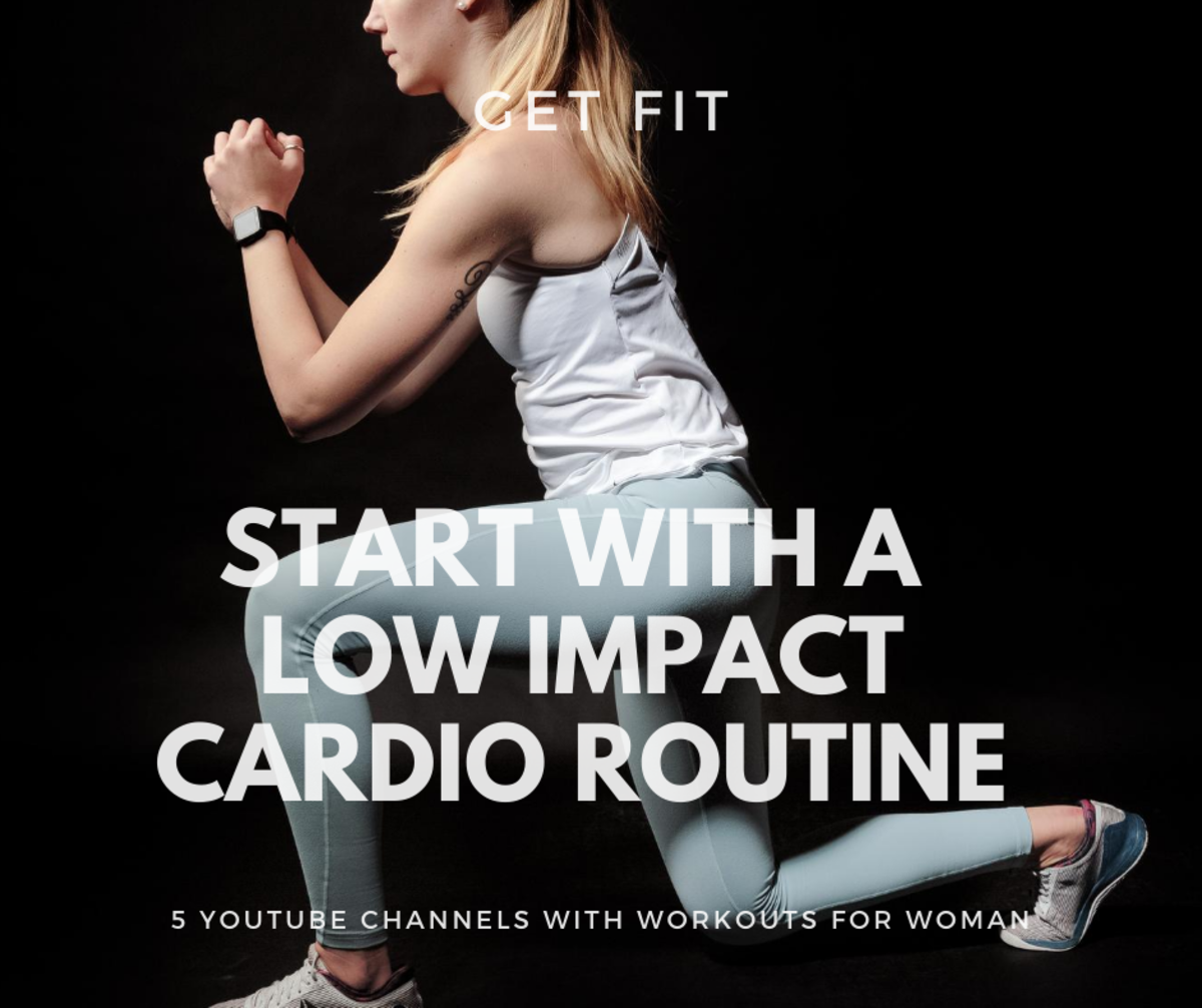 Start with a low impact workout routine if this is your first time doing a workout at home.