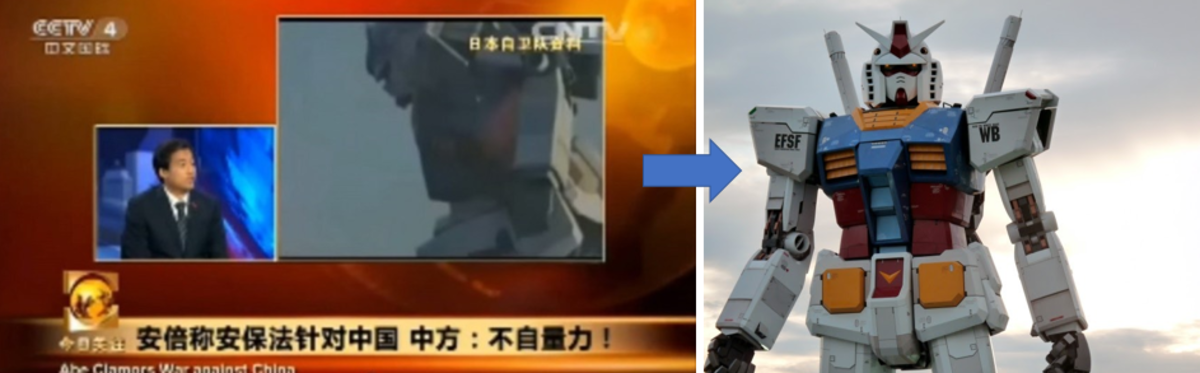 When The Mainland China Thought Gundam was a Real Weapon