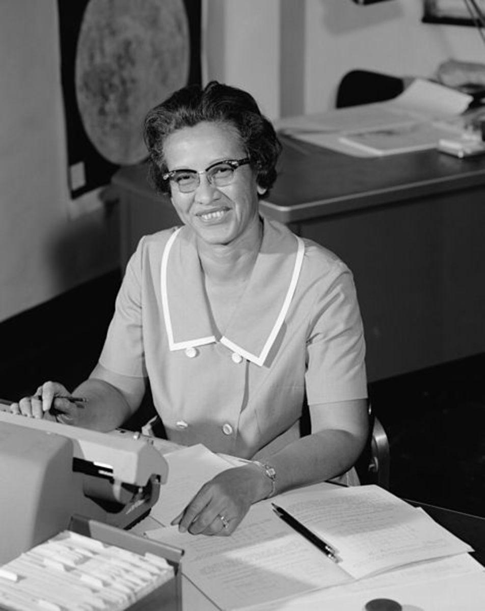 Katherine Johnson at NASA, 1966