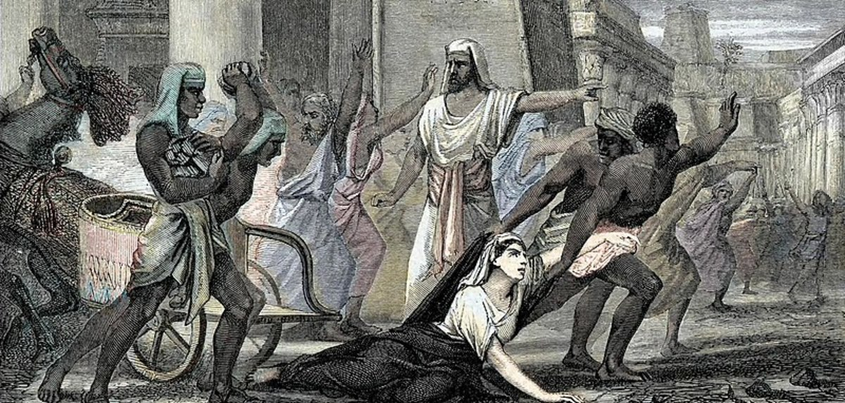 'Death of Philosopher Hypatia in Alexandria' by an Unknown Artist