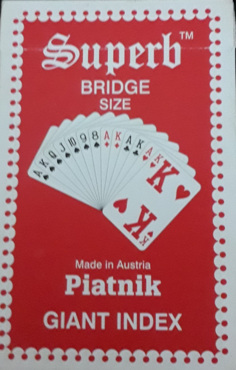 Superb Bridge Size Playing Cards Review