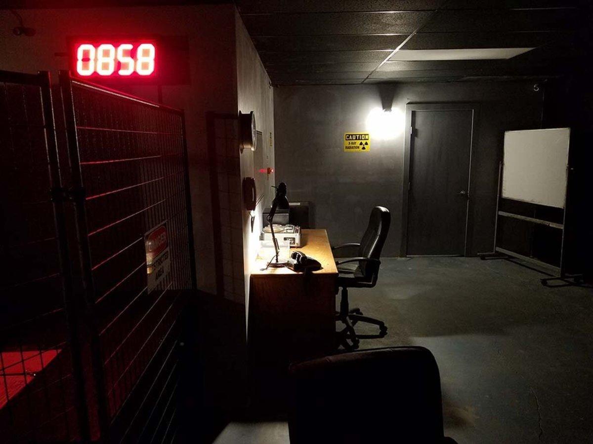 Hall Of Shadows Escape Room.