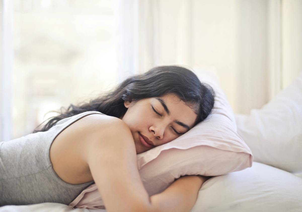 Getting sleep and hydrating are guaranteed to improve your skin.