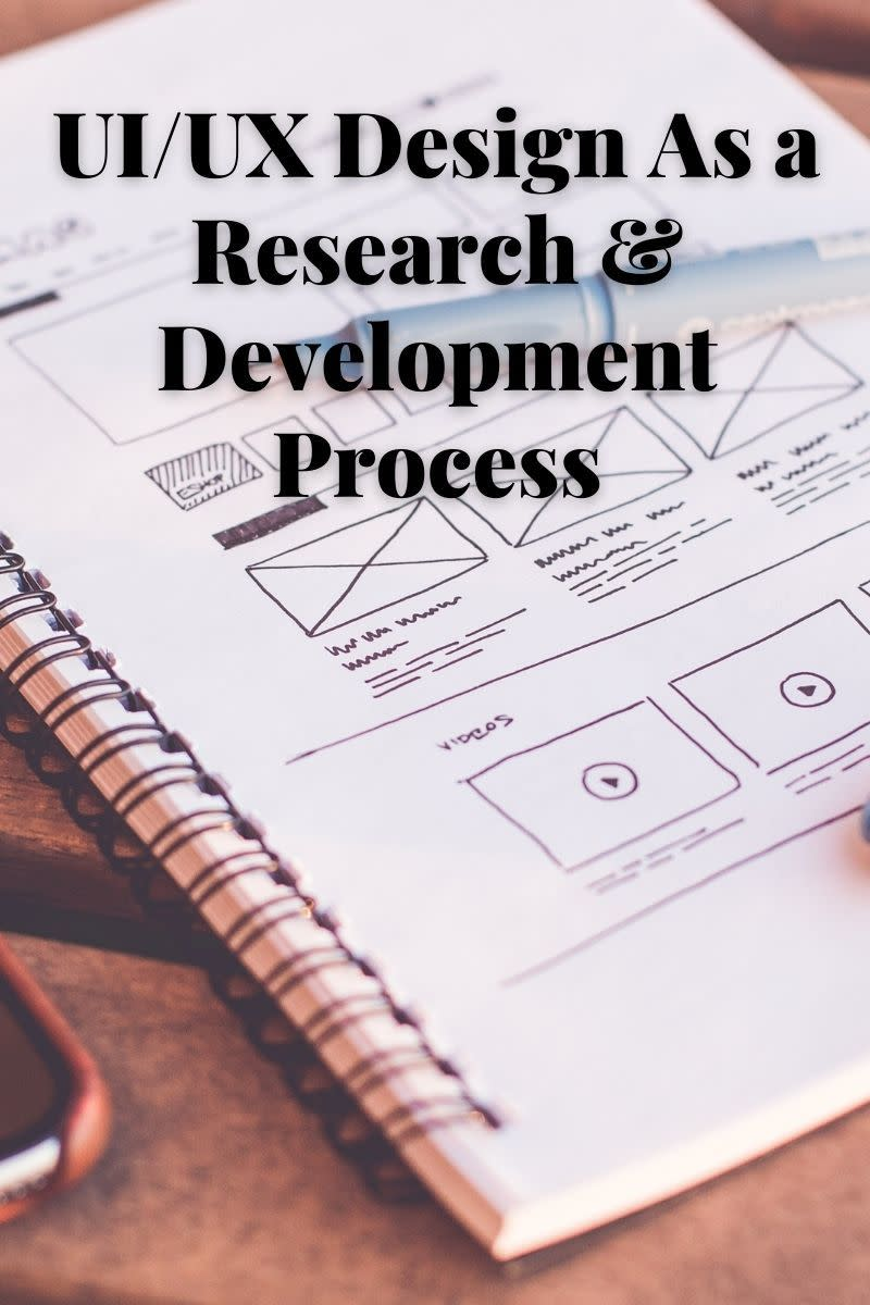 UI/UX Design as a R & D Process