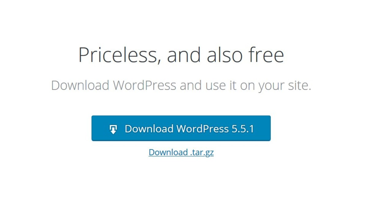 Current Version of WordPress
