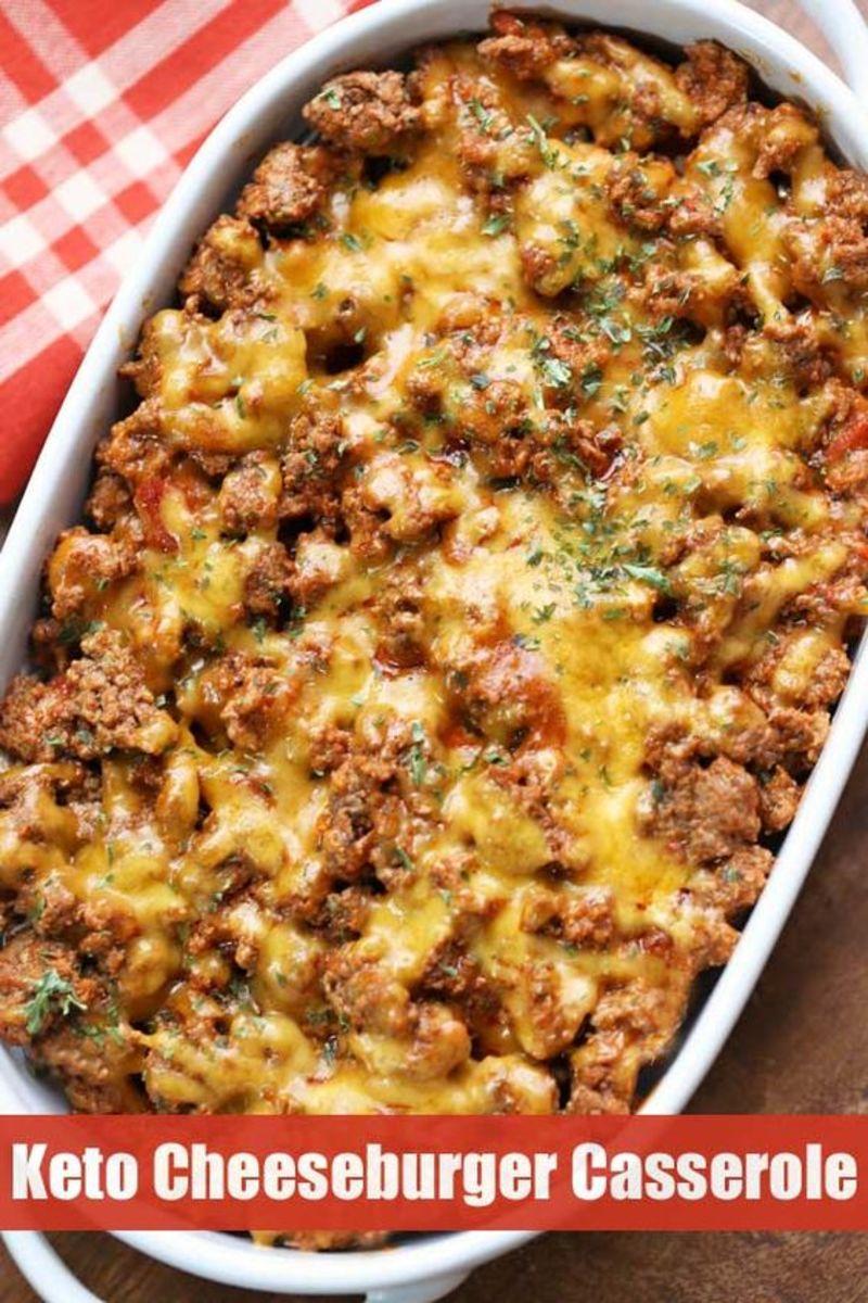 Keto Cheeseburger Casserole by healthyrecipesblogs.com