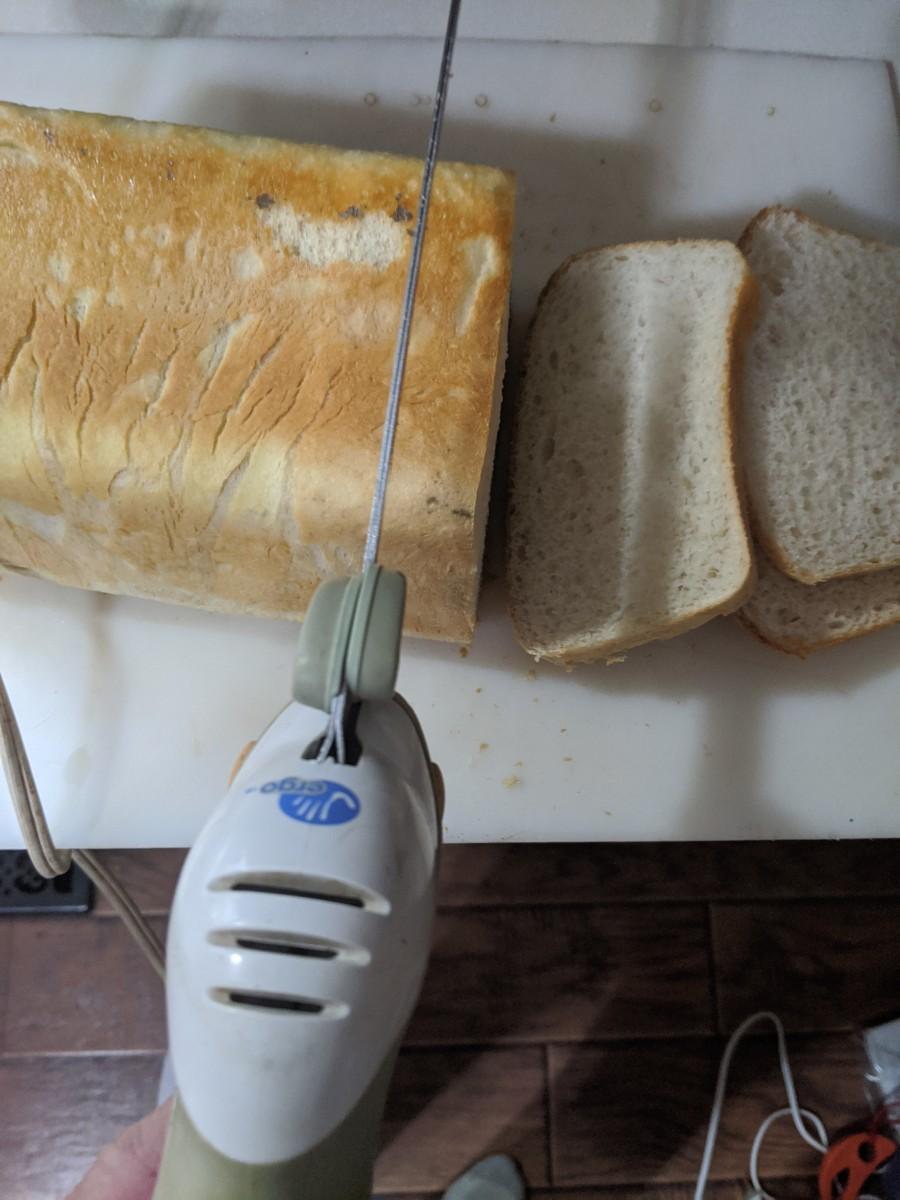 Homemade Bread - Thawing, Raising, Baking, Eating