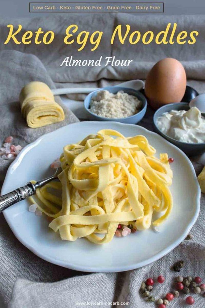 Keto Pasta Noodles by lowcarb-nocarb.com