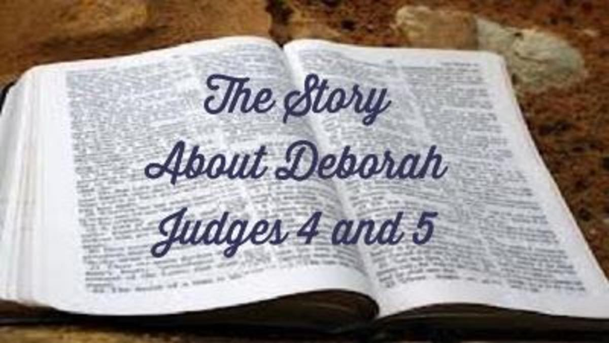 Deborah: Only Woman Judge in the Bible and Other Interesting Things