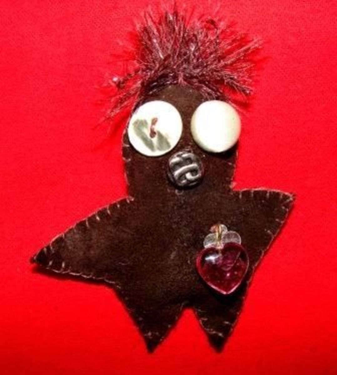 Make a Voodoo Poppet - Step Four