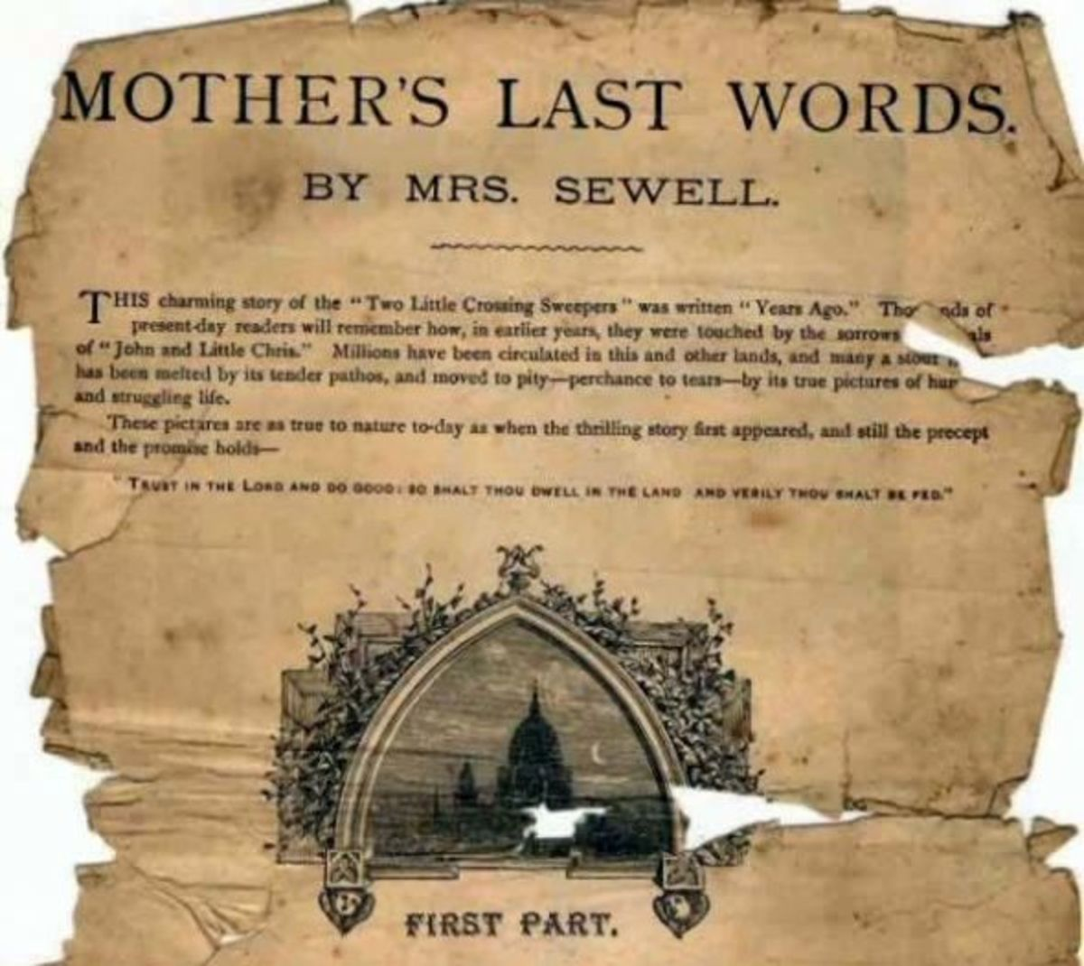 Mother's Last Words by Mary Sewell