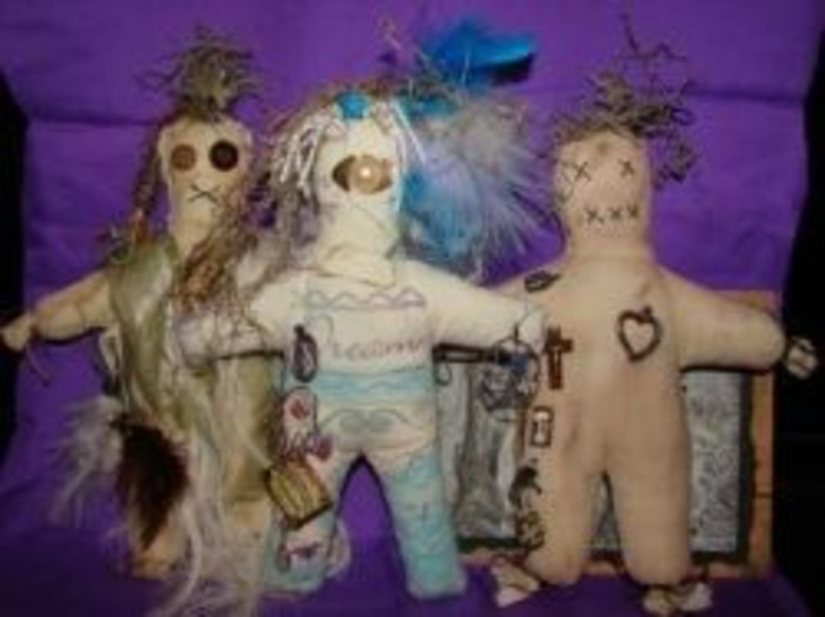 Let's Make Voodoo Poppets!