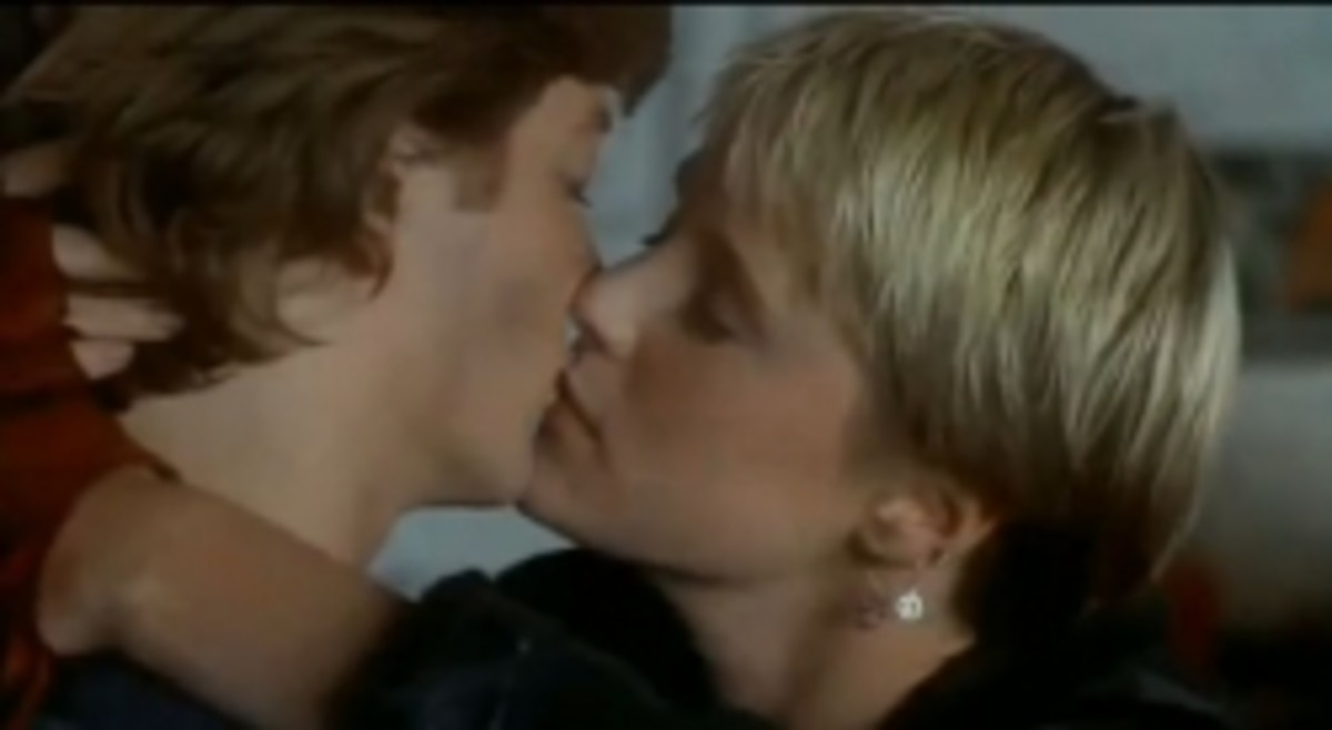 Some Kind of Wonderful Movie Kiss