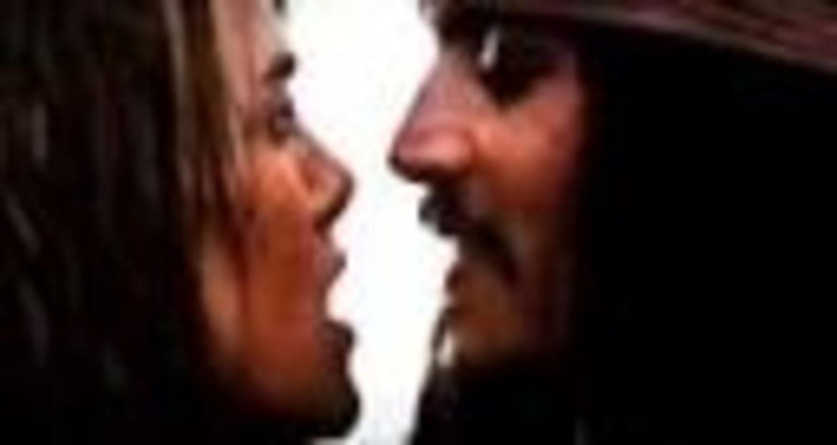 Pirates of the Caribbean: Dead Man's Chest Kiss