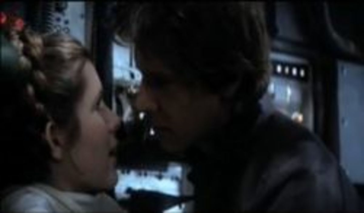 Star Wars kiss