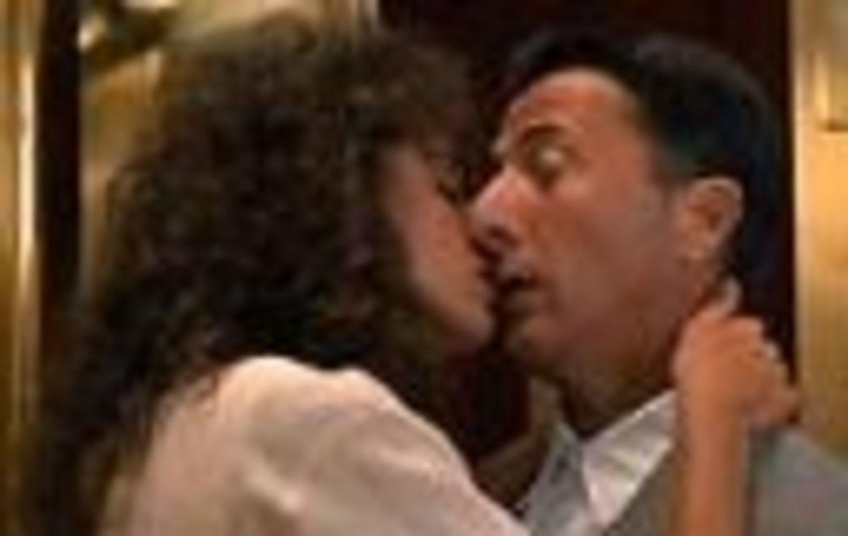 Rainman elevator kiss