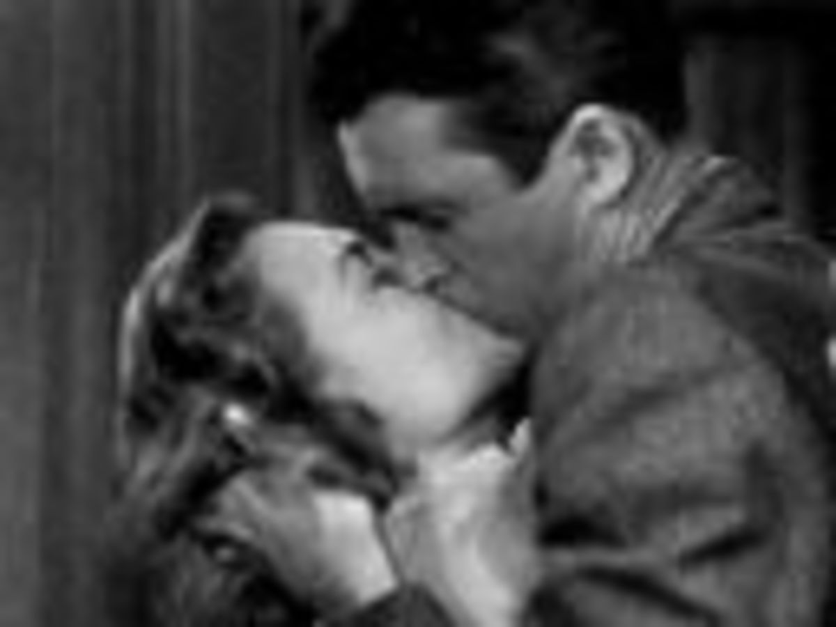 It's A Wonderful Life kiss