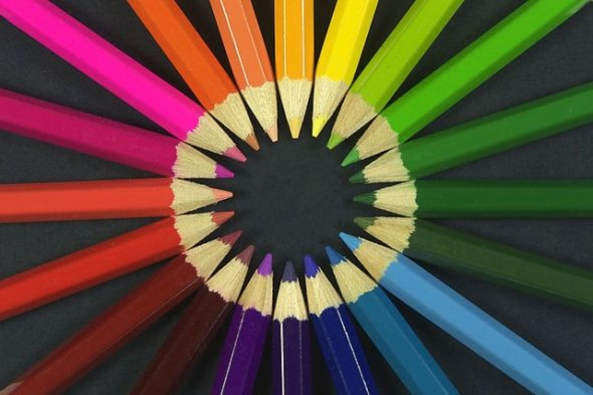 Photo Credit: Michael Maggs - coloured pencils photo (Wikimedia). Adult coloring pages look great when you use colored pencils