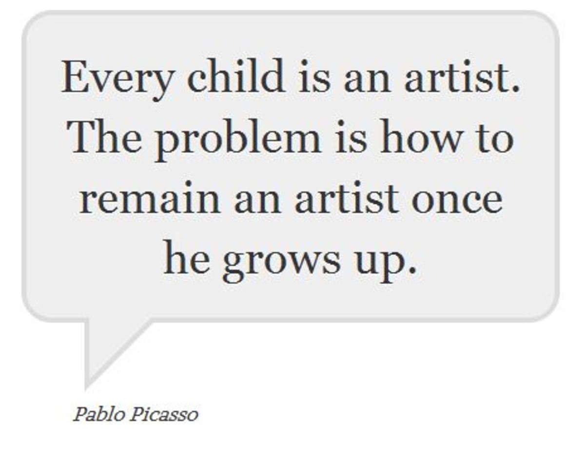 Pablo Picasso quotation