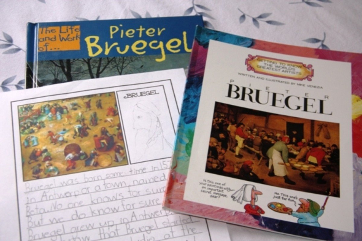 Bruegel Notebooking Page