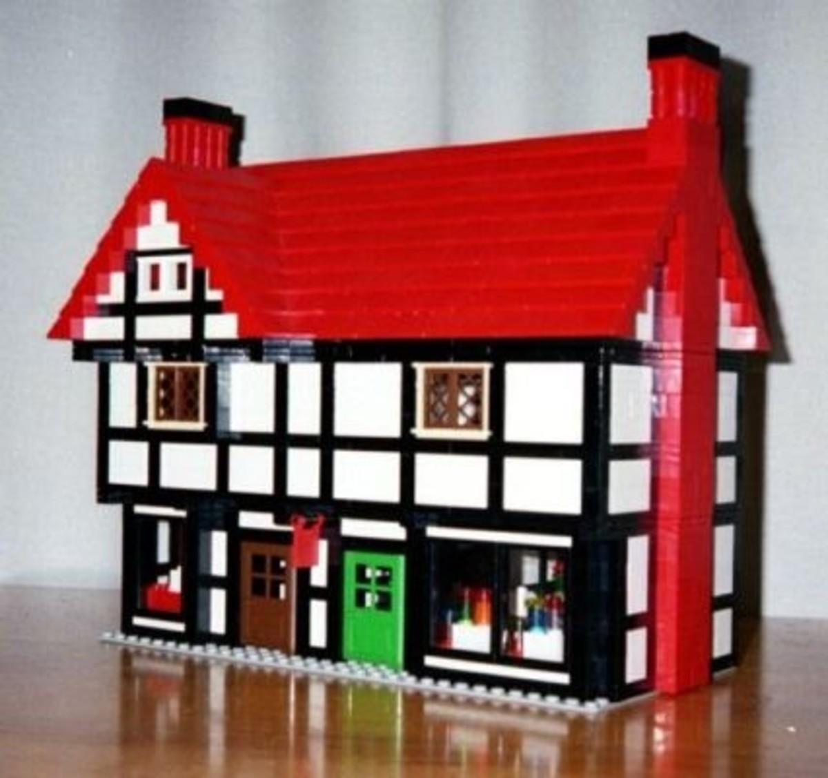 Lego model house instructions